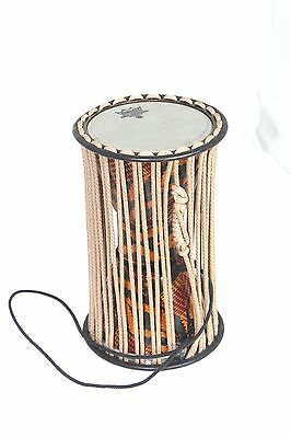 Remo Talking Drum Signature series- Fabric African Stripe 8""