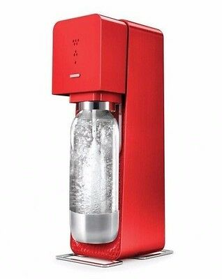 SodaStream Source - Machine à soda - Rouge 1 Litre 3 Niveaux de gazéification