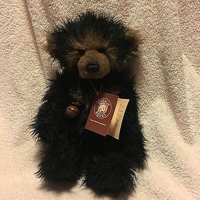 Charlie Bears Fidget Bear Designed by Isabelle Lee comes with Bag