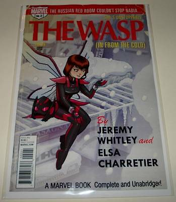 The Unstoppable WASP # 2  Marvel Comic  April 2017  NM   VARIANT COVER EDITION