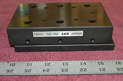 IKO CRWU 100-160, Heavy duty cross roller way table unit, 95mm travel, UNUSED