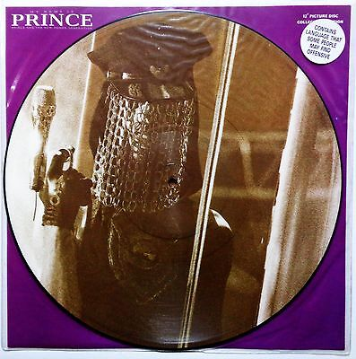 """PRINCE My Name Is Prince PICTURE DISC VINYL 12"""" Rare UK 1992 Limited Edition EX+"""