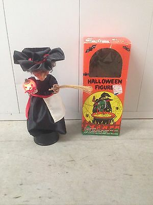 Vintage 1989 Sancho Witch Monster  Box Halloween Prop