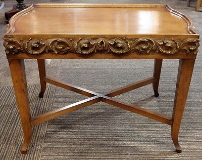 EDWARDIAN Decorative Wooden Low COFFEE TABLE