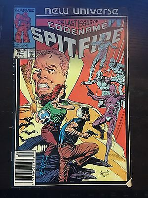 Spitfire and the Troubleshooters (1986) #13 VF Very Fine Marvel Comics