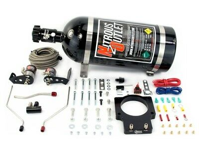 Nitrous Outlet Wet Plate Nitrous Kit - 98-02 F-Body LS1 FAST 92MM Plate 50-200HP