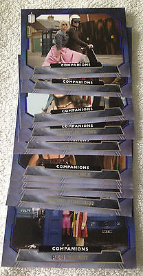 Doctor Who 2015 by Topps 10 Card Companions Chase set C1-10