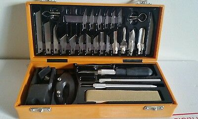 Twenty Five Piece Wood Carving Set