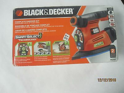 New Black & Decker MS2000 SmartSelect Multi Sander