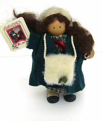 """6"""" LIZZIE HIGH DOLL The Little Ones Christmas Girl with Picture of Santa & Self"""