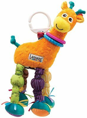 Lamaze Play and Grow Stretch the Giraffe Take Along Toy , New, Free Shipping