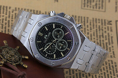 New Men's Automatic Mechanical Classic Luxury Stainless Steel 45mm watch