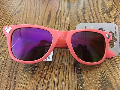 Disney Mickey Icon Reto Pink Adult / Teen Sunglass New With Tags