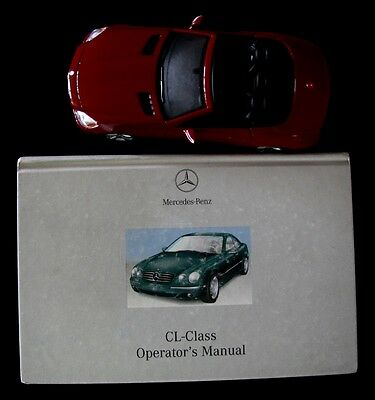 2002 Mercedes Benz CL Class   CL500 CL600 CL55 Owners Manual ONLY #M223