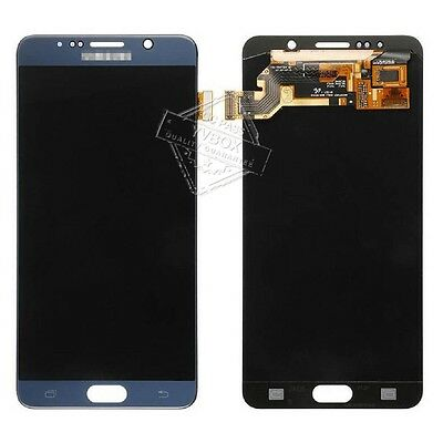 SBI LCD Display Touch Digitizer Full Screen for Samsung Galaxy Note 5 N920 Blue