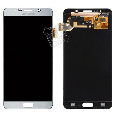 SBI LCD Display Touch Digitizer Full Screen for Samsung Galaxy Note5 N920 Silver