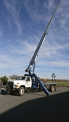 1998 Ford F800 with Manitex 1768 -- 17 Ton Boom Truck with 108 foot reach
