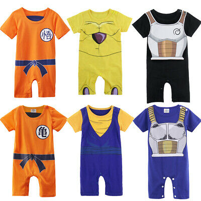 Baby Boys Dragon Ball Z Romper Costume Infant Jumpsuit Outfit Newborn Playsuit