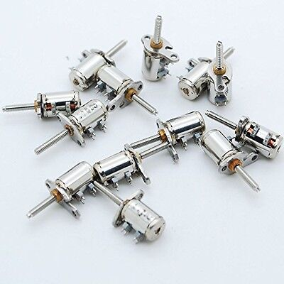 Unknown 10PCS 3-5V 2 Phase 4 Wire Micro Stepper Motor Mini Stepping motor for