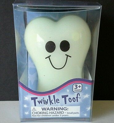 Toysmith Twinkle Toof Glow The Dark Tooth Bank