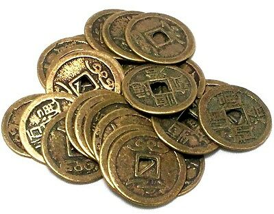 FindSomethingDifferent Chinese Lucky Wealth Coins Pack of 24