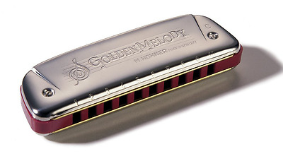 Hohner Golden Melody Harmonica, Key of D