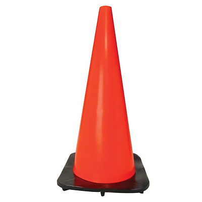 Bon 14-104 28-Inch Bright Fluorescent Safety Traffic Cone with Weighted Base