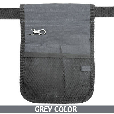Nurse Vet  Physio Teacher Medical Professions Waist Belt Pouch Bag - Grey Color