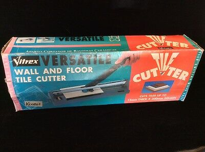 Vitrex wall and floor tile cutter