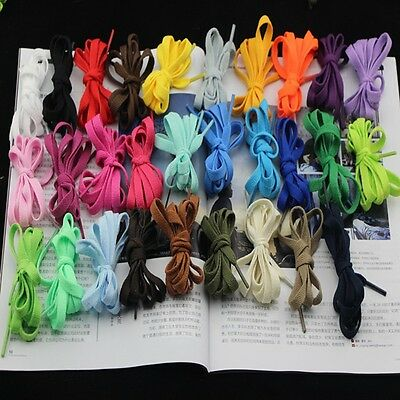 "Shoe laces 1.2m 120cm 47"" compatible with 6 eyelets low top Converse (UK stock)"