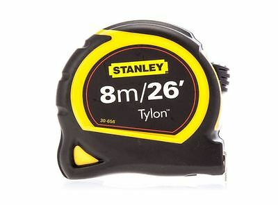 Stanley 130656N Pocket Tape 8m/26ft, Metric, Imperial, Nylon Blade, Class II