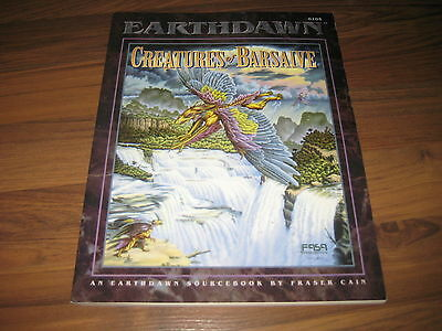 Earthdawn 1st Edition  Creatures of Barsaive Sourcebook Softcover FASA1994 6105