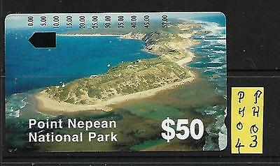 "Aust Telecom Phone Card  ""$5.00 Pt Nepean"" Mint L%$K Ph03"