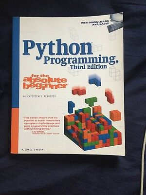 Python Programming for the Absolute Beginner by Michael Dawson (Paperback, 2010)