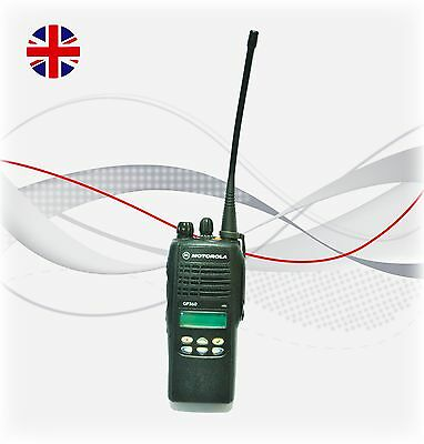 Motorola GP360 Single Two way Radio with New Battery