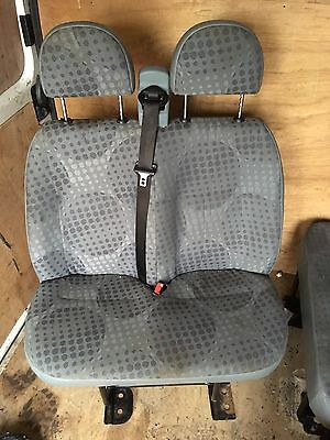 Ford Transit 2008 Mk7 Front Passeger Side Double Seat