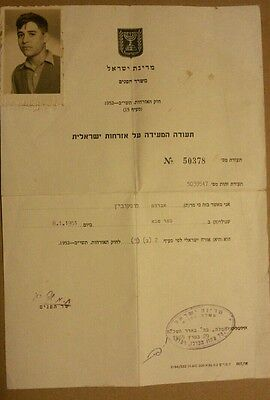 Israel Citizenship Document