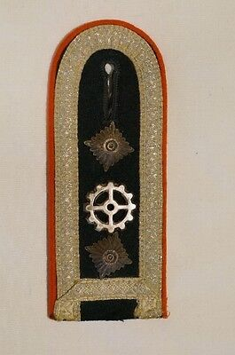 WW2 German Corps of Engineers Single Shoulder Board