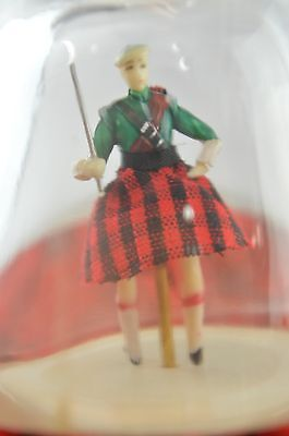 Musical Gilbey's Spey Royal Whiskey Decanter with Dancing Scotsman