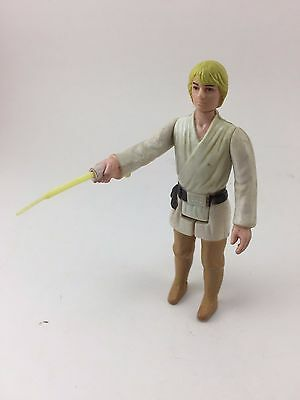 Luke Skywalker Star Wars Action Figure Original Complete 1977 w/ Full Lightsaber