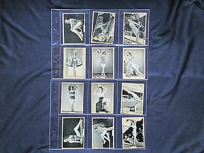B.A.T. Grace And Beauty (Nos 46-90) 1939. Full Set Of 45 Cigarette Cards  VG/VG+