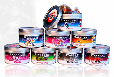 Starbuzz Shisha Exotic & Bold 100G Tin  Available Flavours [Come With  Tin!]