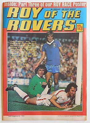 ROY OF THE ROVERS Comic - 9th February 1980