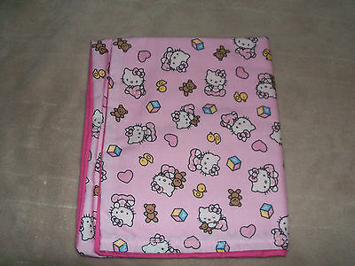 Hello Kitty Pink  Travel Pillow Case
