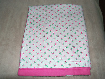 Rose Buds Pink Travel Pillow Case