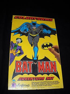 1989 Colorforms BatMan Adventure Set Sealed