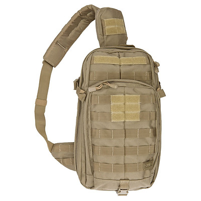 5.11 Tactical Series Rush 10 Mobile Operation Attachment Bag, Sandstone, One Siz