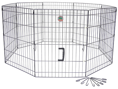 Go Pet Club GDP1048 48-Inch Pet Exercise Play Pen