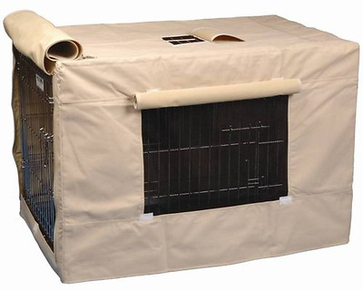 Precision Pet Indoor Outdoor Crate Cover for Size 6000 Crates, Tan