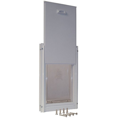 Ideal Pet Products 15-by-20-Inch Aluminum Super-Large Deluxe Pet Door with Teles
